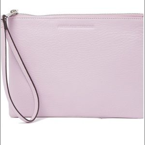 Aimee Kestenberg Leather Pouch in Soft Lavender